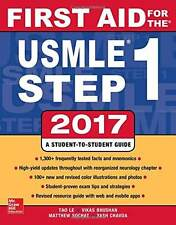 FIRST AID FOR THE USMLE STEP 1 2017 by Bhushan (Color Printed, Glossary Paper)