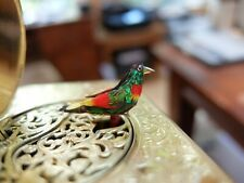 Vintage Singing Bird Box Automaton Music Box (Watch Video)