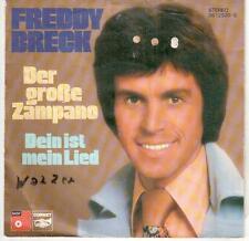"<2595-31> 7"" Single: Freddy Breck - Der große Zampano"