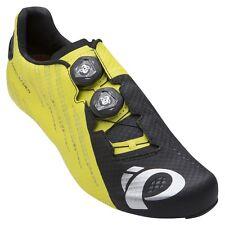 Pearl Izumi P.R.O. PRO Leader v4 Carbon Road Bike Shoes Black/Lime 46