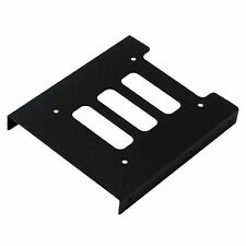 """Mount Bracket 2.5"""" To 3.5"""" SSD HDD Hard Drive Holder For PC Metal Adapter"""