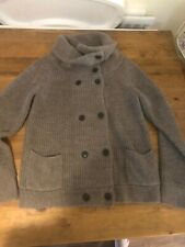 Gap Button Up Roll Neck Cardigan - Large