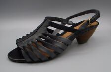 """CORRENTE DI MAREA"" Clark's Women's Black Combi Sandali in Pelle Misura UK 4.5 D."