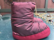 Parbar Insulated Booties Small Colorguard Iridescent Burgundy Moon Boots
