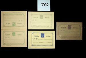 DAW Spain  Postal History  Postal Stationery Collection 2 scans Lot 764