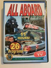 All Aboard 11 Hours Of Railroad Entertainment 26 Programs Green Frog Productions