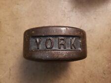York Blob YORK Side half 30 Grip Pinch Strength strongman training CoC lb
