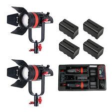 CAME-TV Boltzen Bi-Color Q-55S 3 Travel Kits Available 8700 Lux@1m + 4Battery