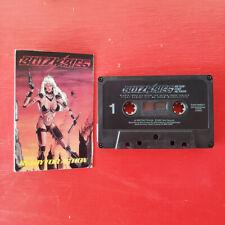 BLITZKRIEG on Talen —READY FOR ACTION— heavy metal cassette tape