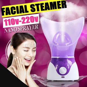 Facial Steamer Sprayer Face Thermal Nano Pores Cleaning Sauna Spa Home