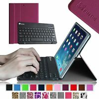 For Apple iPad mini 1 2 3 Case Cover Stand Shell w/ Wireless Bluetooth Keyboard
