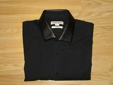 REISS Mens Black Slim fit Shirt Sz S  great condition!!!