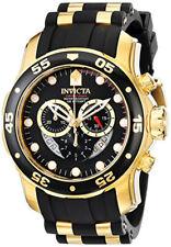 Invicta Men'S Pro Diver хронограф кварц два тона полиуретан 100 м часы 6981