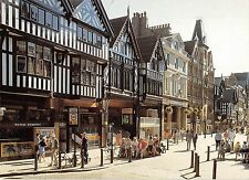 B97437 bike chester  eastgate street  pedestrian way   uk