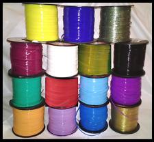 15 YDs Rexlace Gimp Boondoggle Plastic Lace ~ 15 Pretty Frozen Colors 1 Yd Each