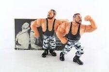 Hasbro WWF WWE Wresting Action Figure Bushwhackers Luke & Butch w/card