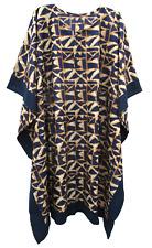 Cotton Kaftan Cover Up Beach Hippie Dress Boho Size 16 18 20 22 24 26 28