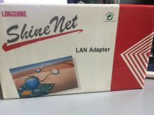 Lcs-8734, Longshine 32-bit Eisa Token Ring, Rj45 & Bnc 10Mbps Network Card, New