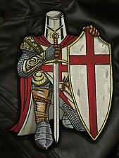 Red Crusader Knight Back Patch