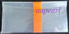 a bundle 100pcs 8.2cm*17.5cm Currency Sleeves Holders for paper money banknotes