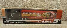 New 2004 Winner's Circle 1:64 Diecast NASCAR Trailer Rig Kasey Kahne Dodge #9
