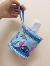 Disney Stitch And Scrump Tissue Holder For Car, Bathroom, Dining Room. rare item