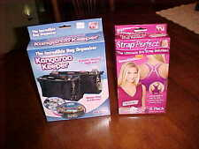 AS SEEN AS TV - LOT THE ULTIMATE BRA STRAP SOLUTION & KANGAROO KEEPER SETS (NIP)
