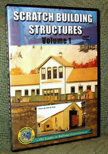 "20055 MODEL RAILROAD VIDEO DVD ""SCRATCH BUILDING STRUCTURES"" HOW-TO"