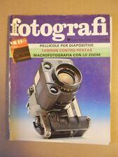 TUTTI FOTOGRAFI n°6 1984 Pellicole per diapositive  [G591]