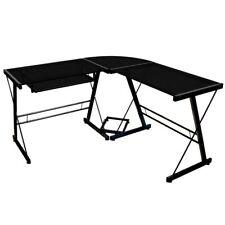 Schreibtische und Computermöbel in Schwarz