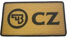 CZ Ceská Zbrojovka Military Tactical, IPSC 3D Rubber Patch with Velcro® Brand Ho