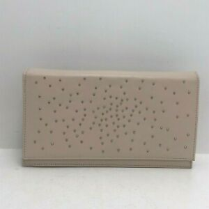 Carvela Kurt Geiger Handbag Light Pink Diamante Clutch Chain Strap Bag 241095