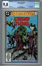Swamp Thing #50 CGC 9.8 White Pages - 1st Appearance of Justice League Dark
