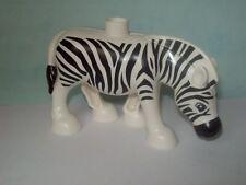 LEGO DUPLO 6157 6158 Zoo Tiere Zebra NEU