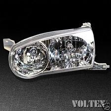 2001-2002 Toyota Corolla Headlight Lamp Clear lens Halogen Driver Left Side