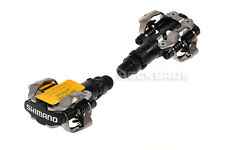 Shimano PD-M520 SPD Bike MTB Clipless Pedals Black Bicycle Pedals
