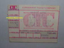 ALICE COOPER / JOE PERRY Concert Ticket Stub 1981 DETROIT MI Joe Louis VERY RARE