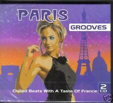 PARIS GROOVES - VARIOUS ARTISTS - 2 CD'S -  NEW