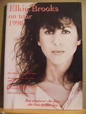 ELKIE BROOKS on tour 1988  concert programme