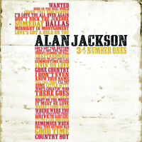 Alan Jackson : 34 Numbers Ones CD 2 discs (2011) ***NEW*** Fast and FREE P & P