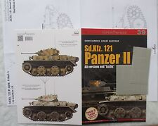 """Sd.Kfz. 121 Panzer II. All versions and """"Luchs"""" TopDrawings + Mask Foil"""