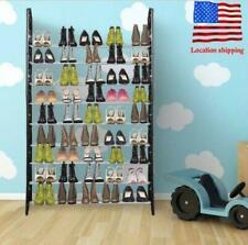 Durable 10 Tiers Standing Metal Shoe Shelves Shelf Rack Storage Tower Organizer