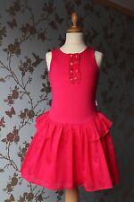 Beautiful dress/jurk/robe/Kleid SIENEKE Pink Peony sz 122 -128 / 7/8 yrs NEW