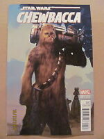 Star Wars Chewbacca #1 Marvel 2015 Olivetti Variant 9.6 Near Mint+