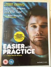 Jeanette Brox Eugene Byrd EASIER WITH PRACTICE ~ 2003 American Indie Film UK DVD