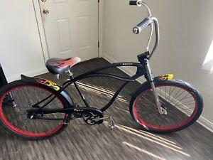 Dyno Deuce Flamed Cruiser Bike