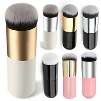Ee _ Grande Redondo Cabeza Lima Base Polvo Brocha para Maquillaje Crema BB Late