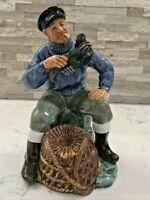 "Vintage Royal Doulton Figurine ""The Lobster Man"" HN 2317 Gorgeous!!"
