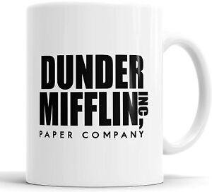 Dunder Mifflin Mug Cup TV Series The Office Christmas Birthday DISHWASHER SAFE