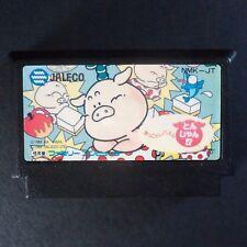 OKKOTOSHI PUZZLE TONJAN Nintendo Famicom NTSC JAPAN・❀・BUTAGE NES 落っことしパズルとんじゃん
